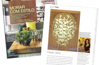 Destaque na revista Casa Claudia